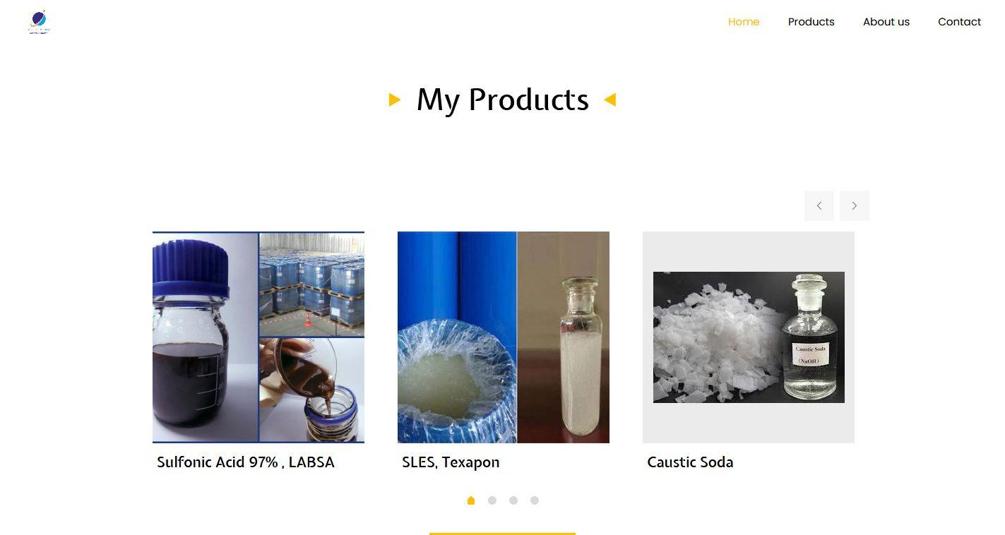 طراحی سایت شرکت گلدن اکتیو