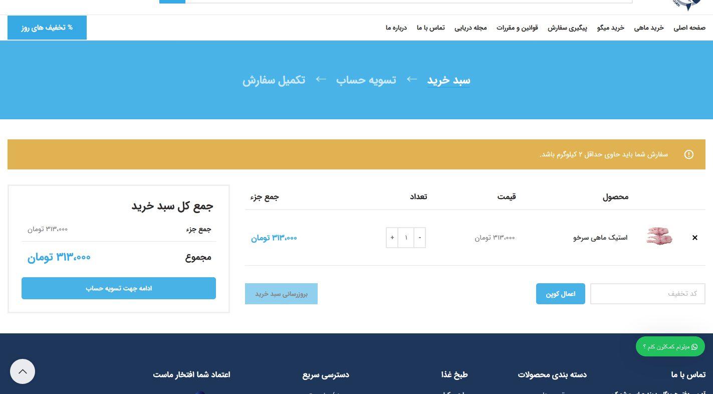 طراحی سایت ماهی خان